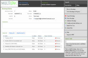 CLR-Demo-System-Booking-View