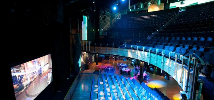 Video system upgrade for indigo at The O2